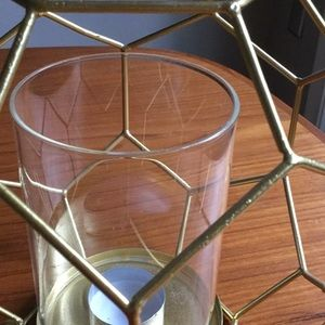 homegoods Accents - Glam honeycomb votive holders - 2 of them!
